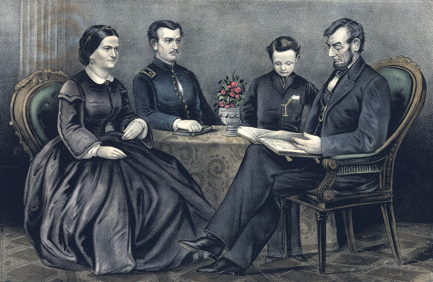 The Lincoln Family, (published 1867)