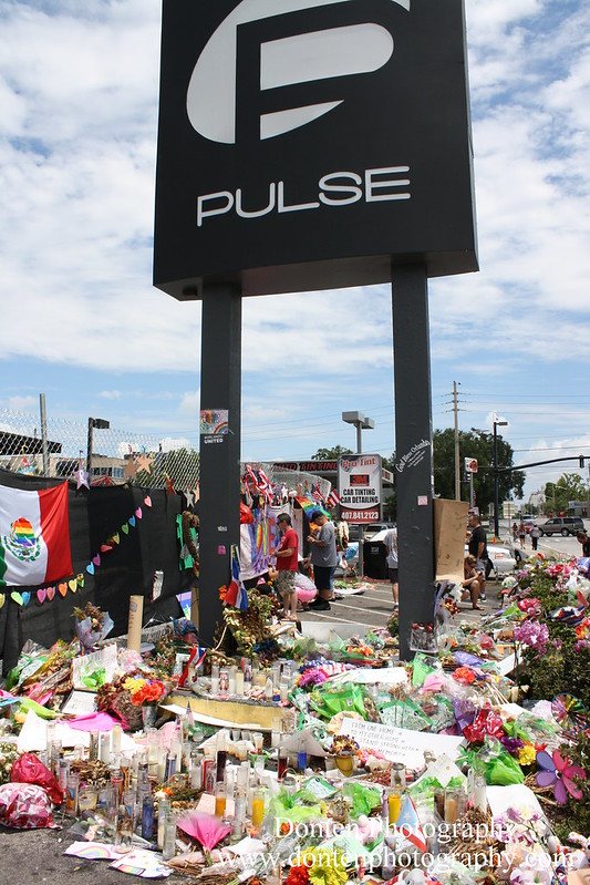Memorial to Victims of Pulse Nightclub Shooting