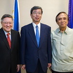 President Nakao meets with Philippine economic team