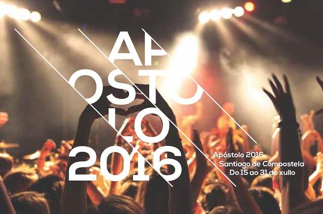 Santiago de Compostela 2016 - Festas do Apóstolo - cartel