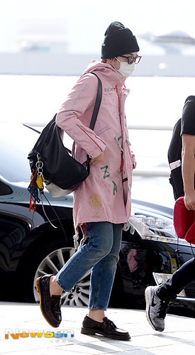 Big Bang - Incheon Airport - 24sep2015 - Newsen - 03