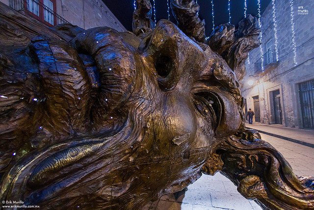 Esculturas en calles de Morelia