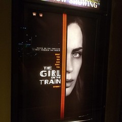 Girl on the train was awesome!!!!! I didn't expect the ending so I won't spoil it. #movies #thegirlonthetrain #emilyblunt