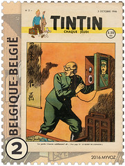 15 Journal Tintin Timbre C