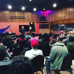Studio Owner Edward Petersen speaking to our newest group of students! Welcome Fall Class of 2016! #omega #studio #school #orientation