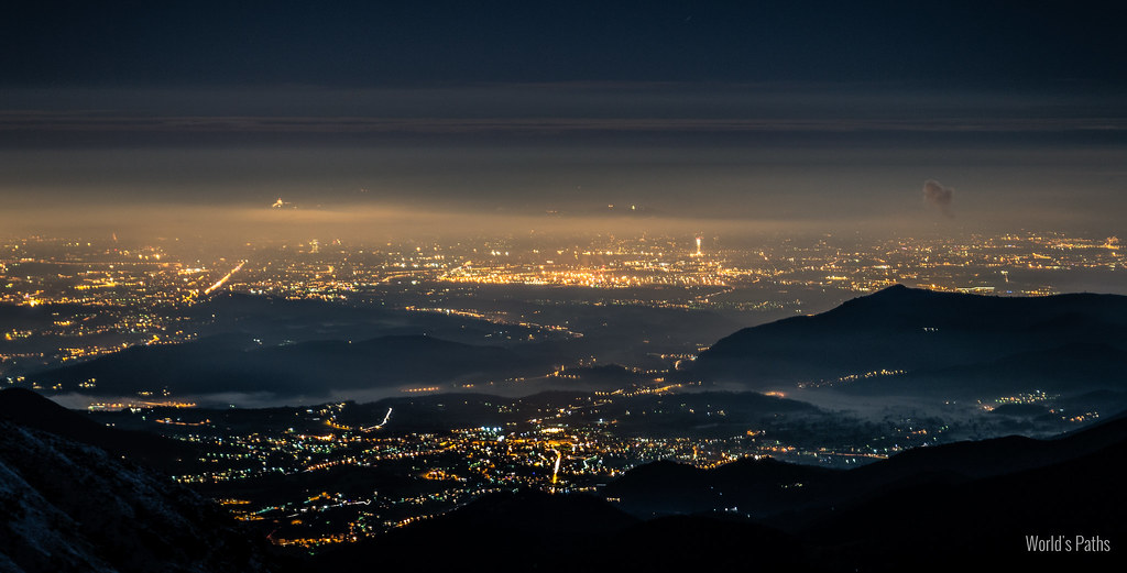 Turin night lights
