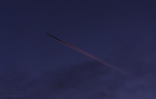 sunset contrail aircraft aviation jets flight jet sunsets contrails