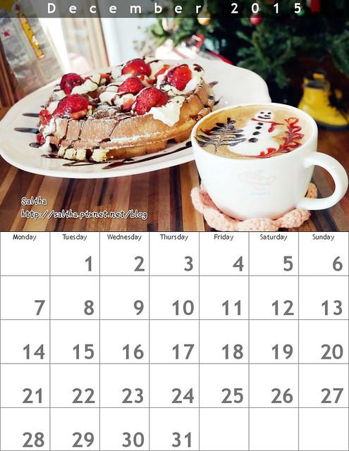 自己作桌曆月歷年曆diy禮物 (12)