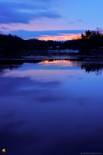blue winter lake ny newyork color reflection ice nature water vertical clouds sunrise landscape outdoors photography pond buffalo warm greenlake hint subtle westernnewyork 2014 orchardpark snowless