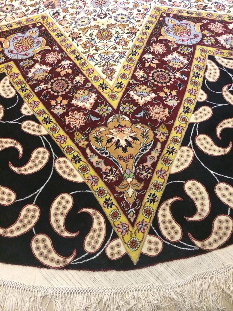 rARE mASHHAD fINE vEGETABLE dYE cOLOR 5X5 - 17X17 MASTER PIECE (1)