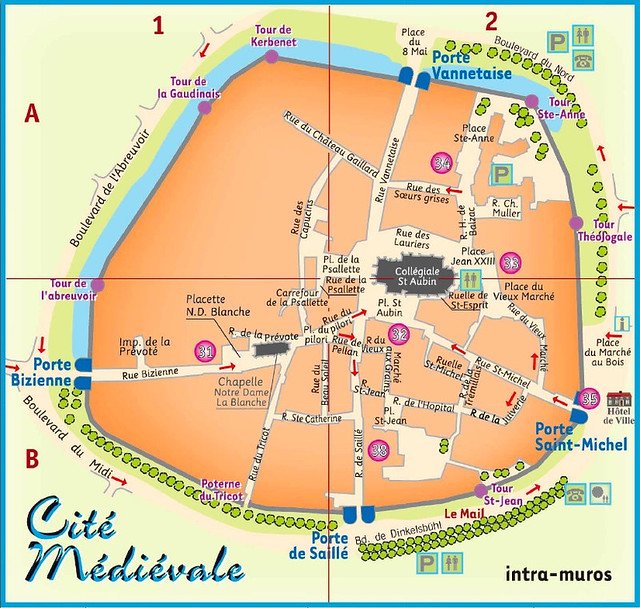 Plan de la cité