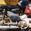 Honda Cub #renggam #malaysia #morningrides #hondacub #johor #bikeing2014 #breakfastrides #pulsar200ns