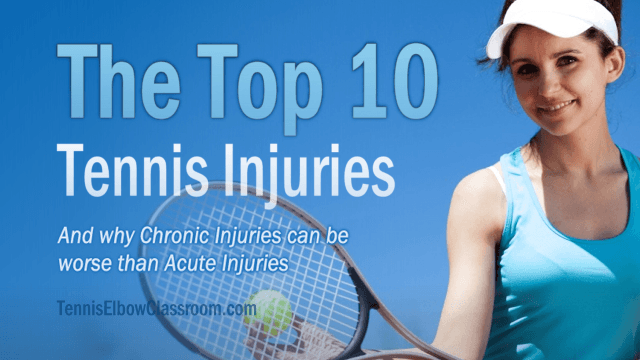 The Top Ten Tennis Injuries