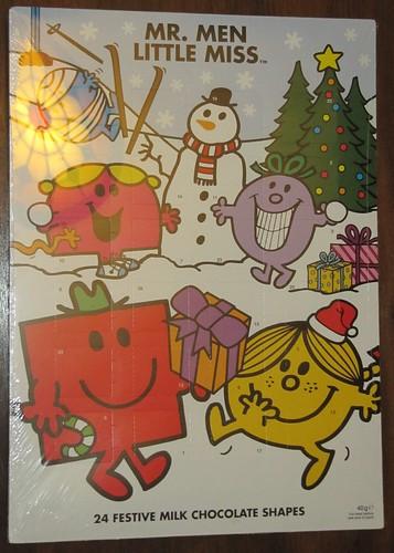 Mr. Men & Little Miss Advent Calendar