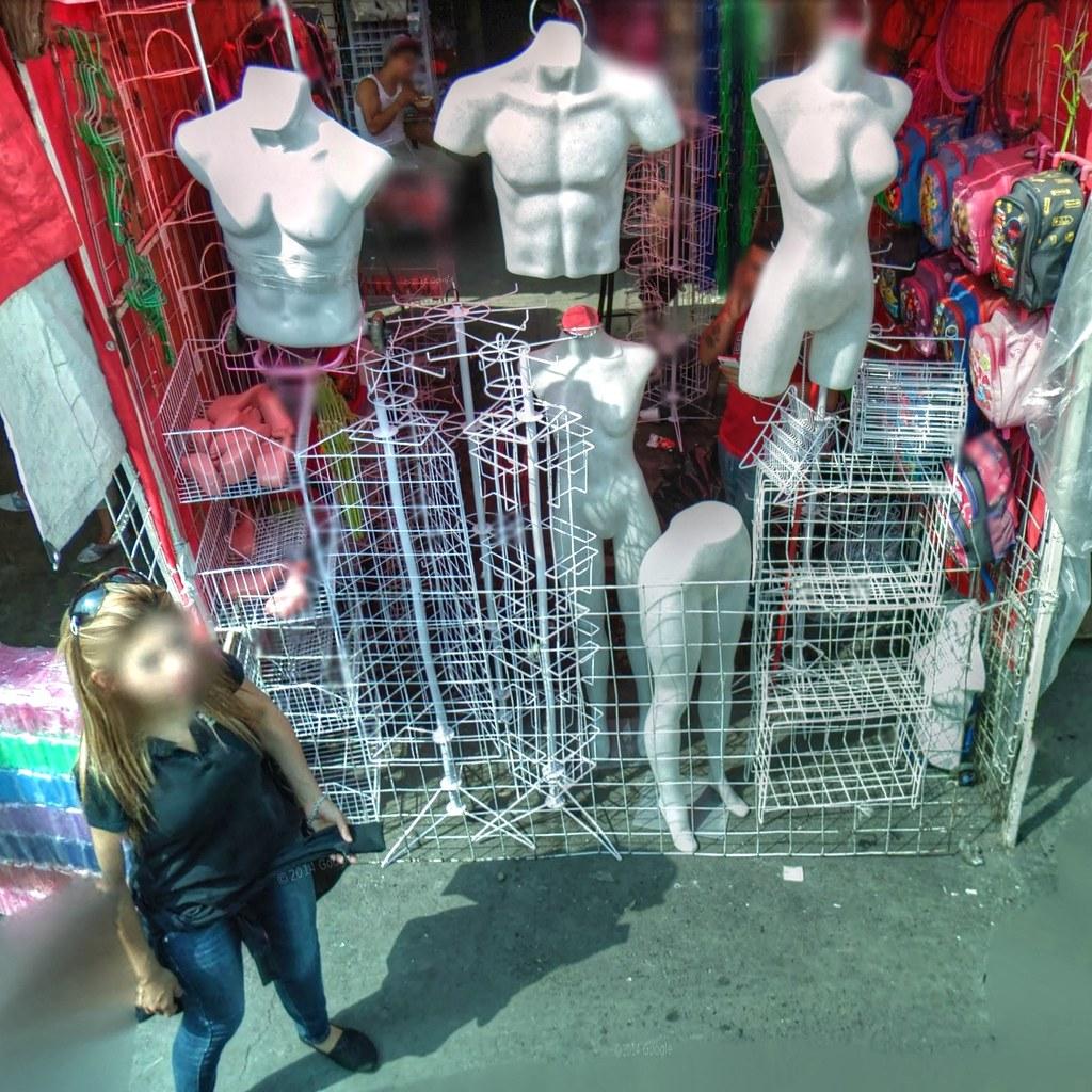 Mercados de la Ciudad de México - Torsos desnudos