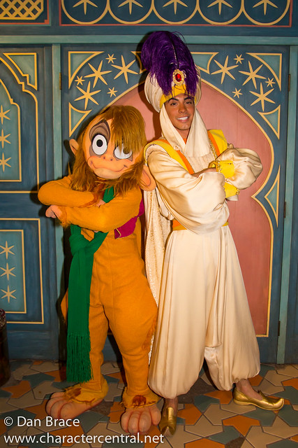 Aladdin and Abu