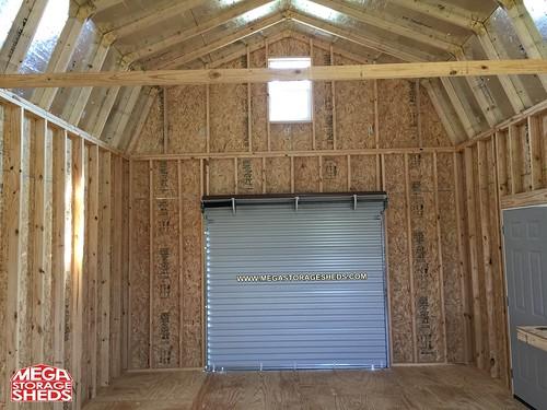 Roll Up Doors Mega Storage Sheds