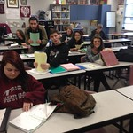 UCAW - JHS Pickering's AVID class prepping for UCAW and researching colleges