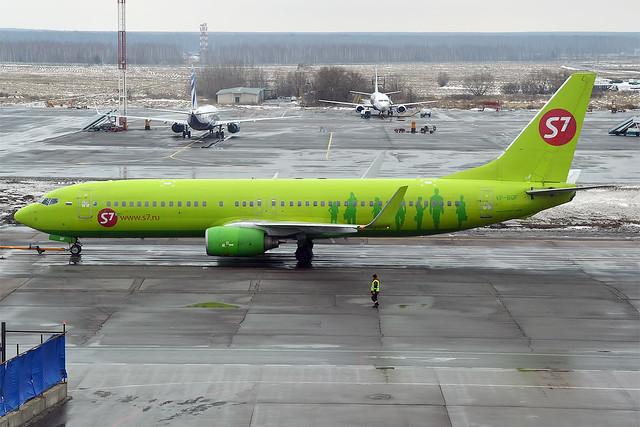 S7 Airlines, VP-BQF, Boeing 737-83N