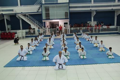 Apresentação no Torneio de MMA - Barradão