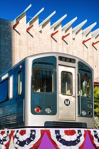 LACMTA Metro Purple Line Westside Extension groundbreaking ceremony, November 7, 2014