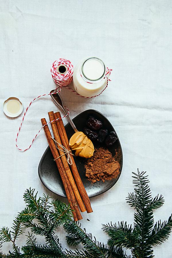 Peanut Butter & Date Creamy Hot Cocoa