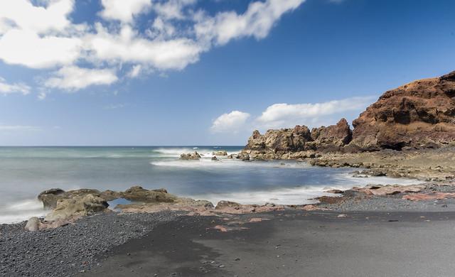 Volcanic coast Lanzarote