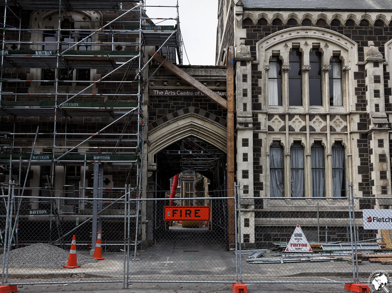 Christchurch dévasté et en reconstruction