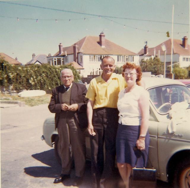 Great-Grandad, Grandad & Grandma