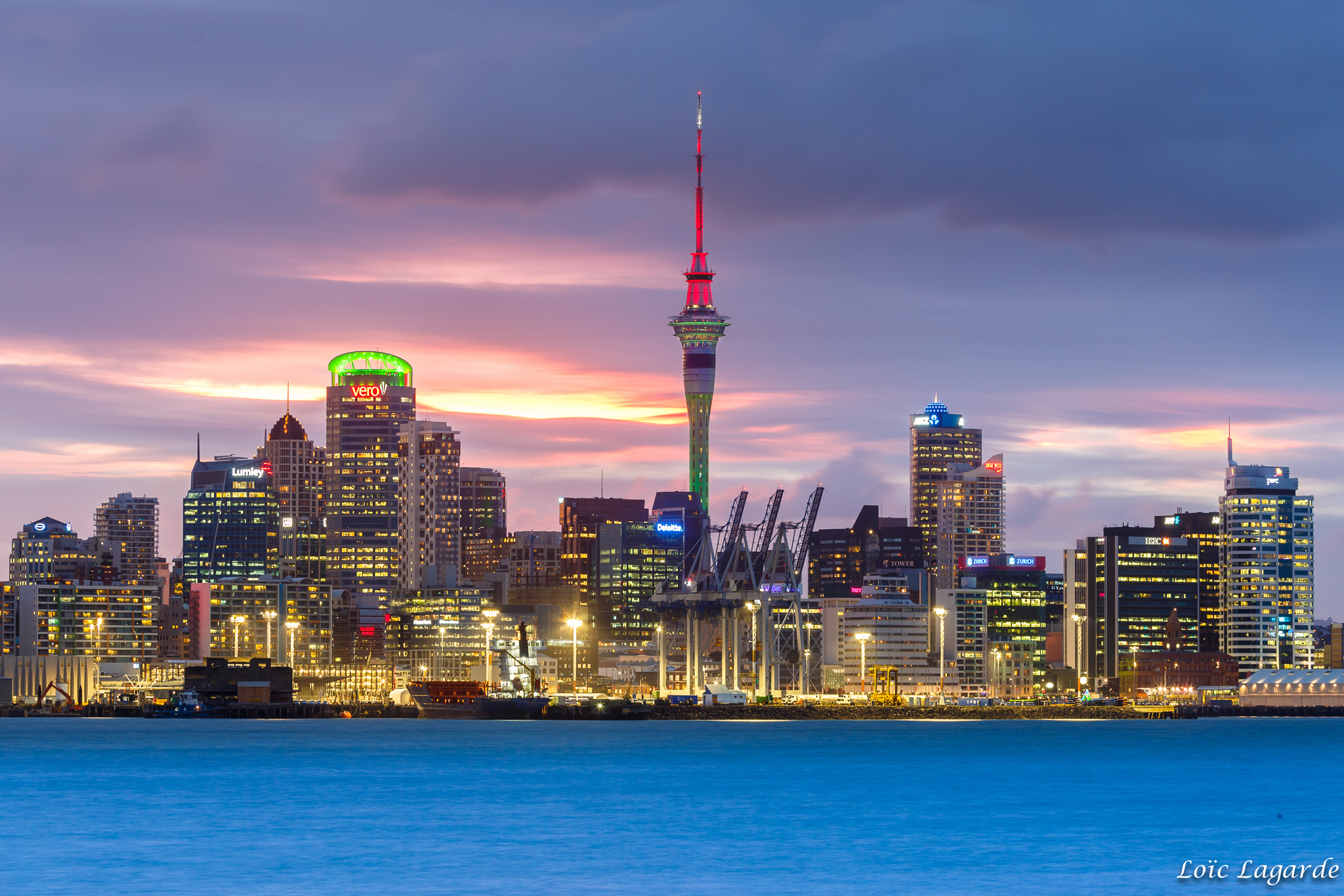 Auckland Skyline from Davenport