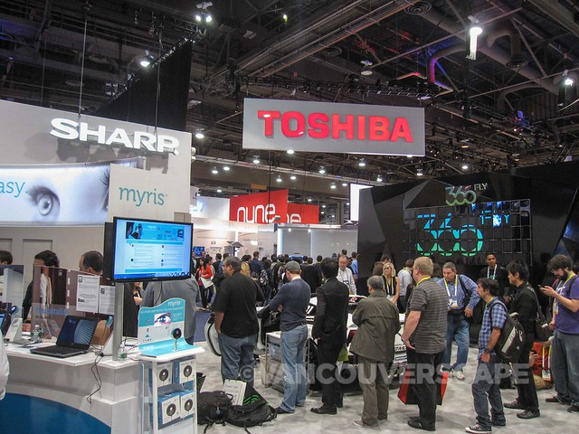 CES 2015 trade show booths-1