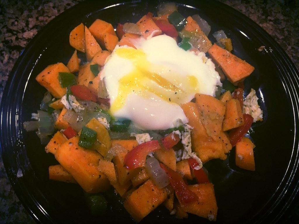 Sweet Potato & Egg Hash