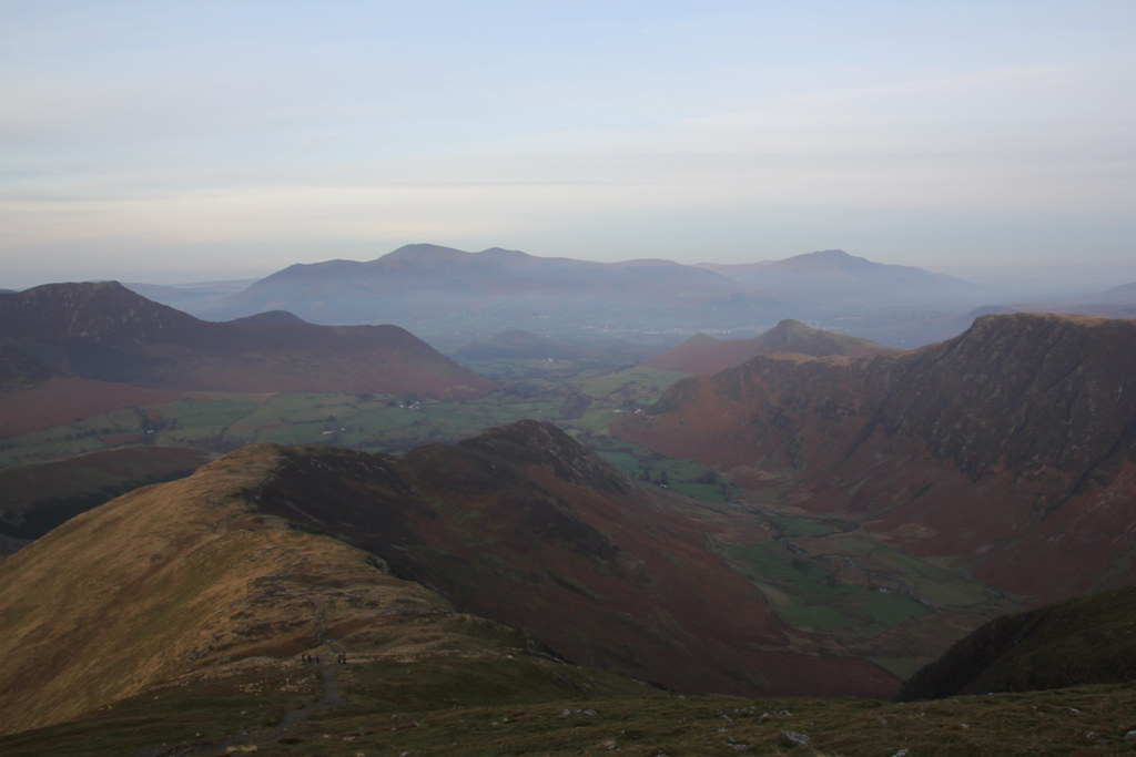 newlands valley, littletown farm, newlands beck, dalehead tarn, skiddaw, blencathra, dale head, hindscarth edge, hindscarth, little dale