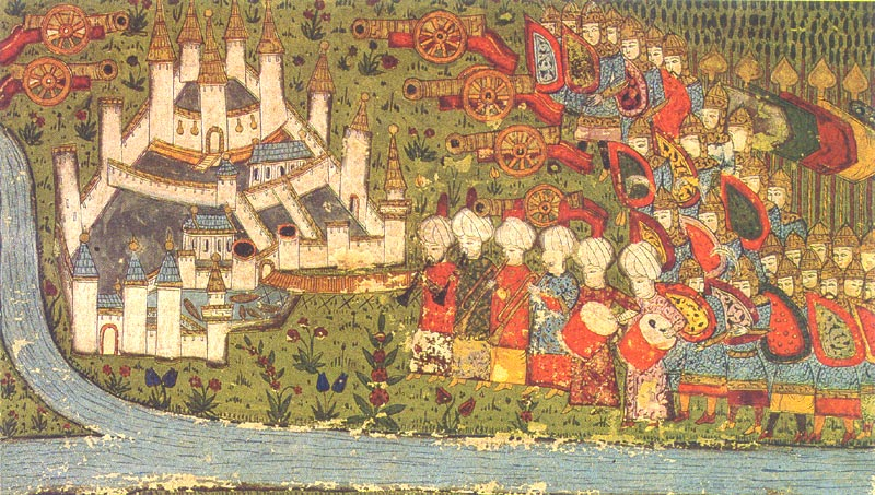 Turkish miniature of the siege of Belgrade