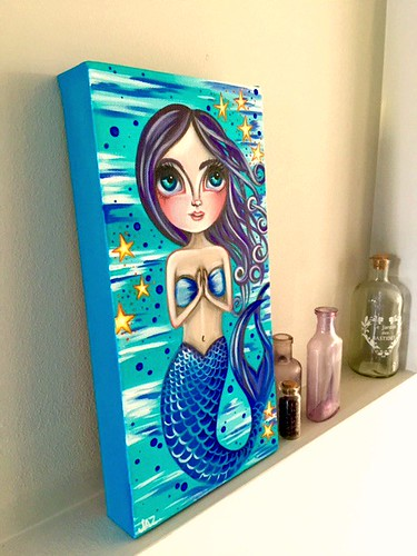 """Blessed Mermaid"" by Jaz Higgins - Side View"