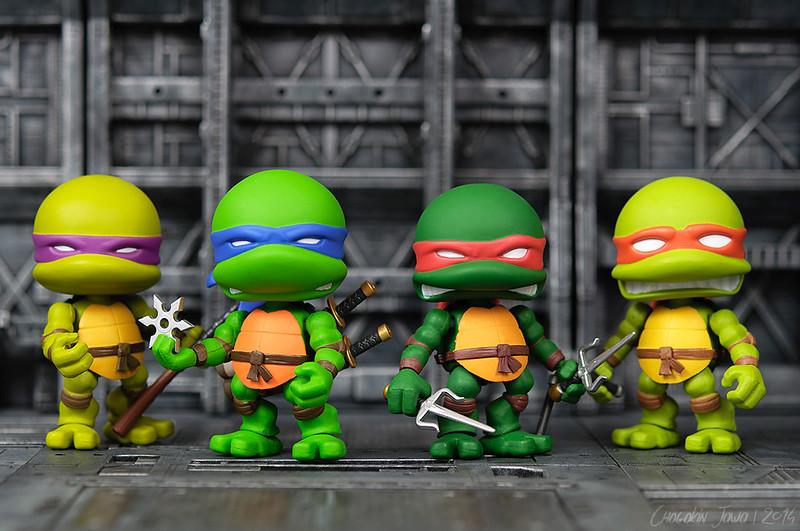 Teenage Mutant Ninja Turtles by The Loyal Subjects 16119742011_5c55f1a107_c