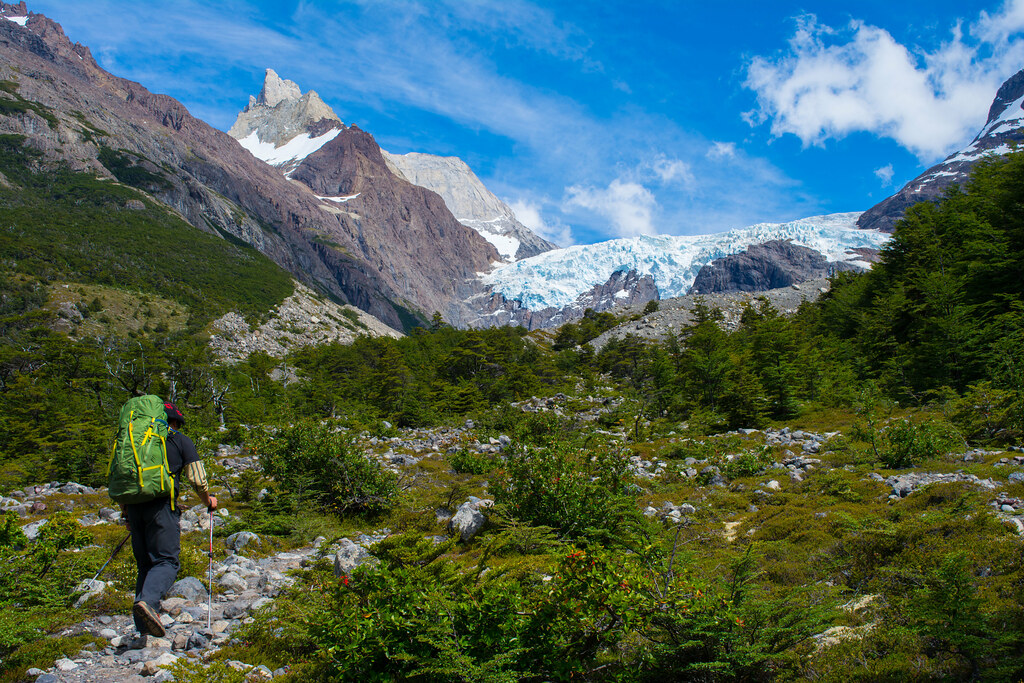 Los Perros glacier, Torres del Paine