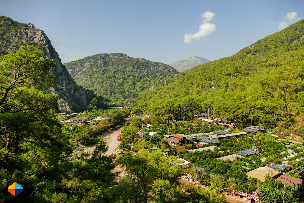 View on Olympos