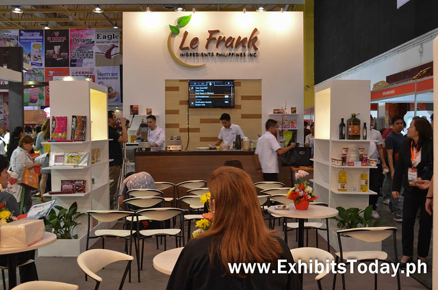 Le Frank Ingredients Coffe Show Inspired Exhibit Booth
