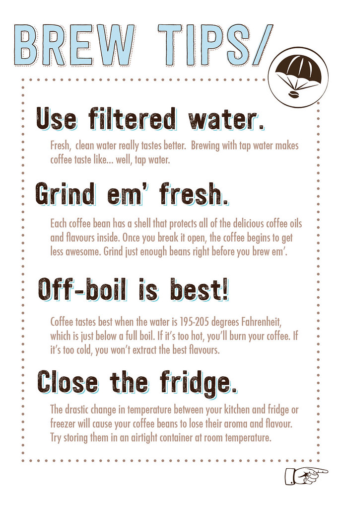 Brew Tips Card