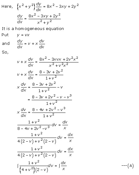 RD Sharma Class 12 Solutions Chapter 22 Differential Equations Ex 22.9 Q26