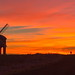 Chesterton mill Sunset by Dave Shrubb