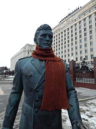 шарф на памятнике1