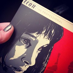 Scored an awesome edition of this movie tonight. #TheProfessional #Leon #movietime