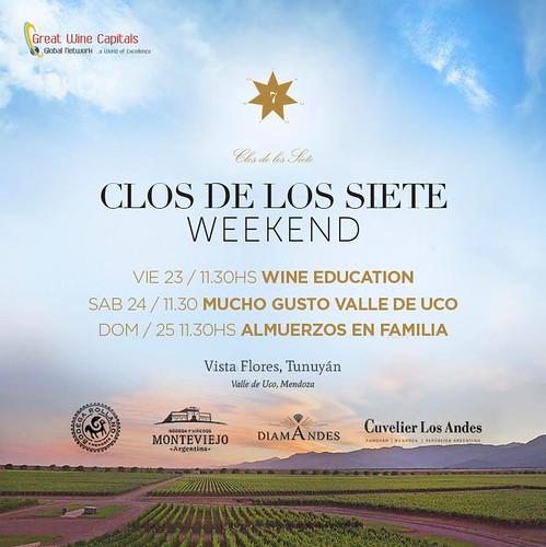 Clos de los Siete Weekend en Valle de Uco, Mendoza