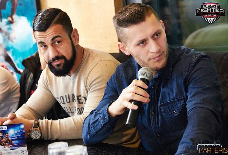 Γιάννης Μανωλάς - Νίκος Γκίκας συνέντευξη τύπου