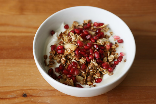 Serving suggestion: over lightly-sweetened yogurt topped with pomegranate seeds