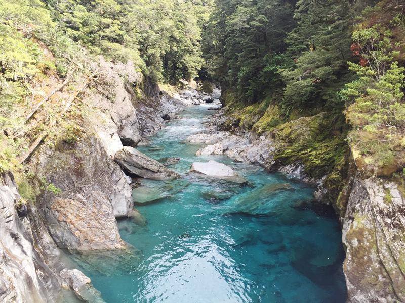 Stolen Inspiration | Kendra Alexandra | Makarora Blue Pools, Hawea, New Zealand, Glassons Shirt