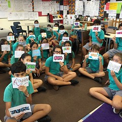 Graffiti names and grade #7PGu. #uwcsea_east #creativity
