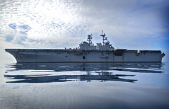 USS America (LHA 6) file photo. (U.S. Navy/MC2 Jonathan A. Colon/)